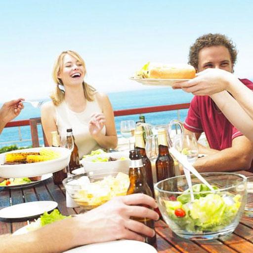 comer sano en vacaciones
