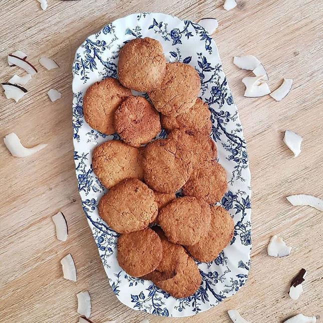 galletas de coco receta