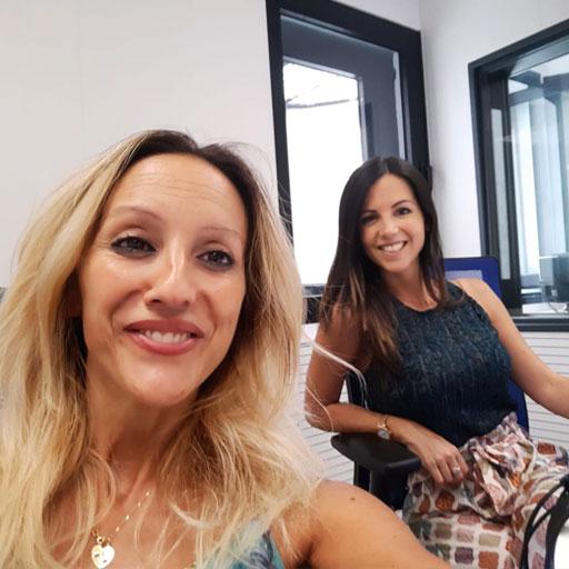 Elisa Blázquez en el programa Fin de Semana de La Cope