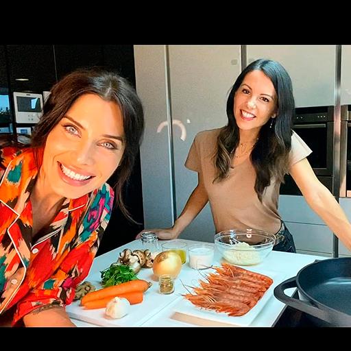 Receta Noodles de Konjak con Gambones al Kurry por Elisa Blázquez y Pilar Rubio