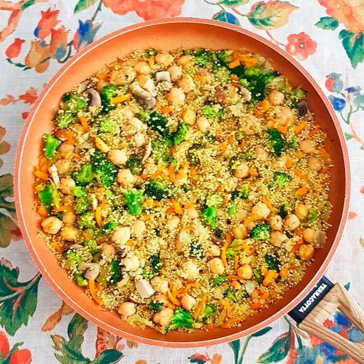 Receta de Quinoa, muy Sencilla y Buenísima